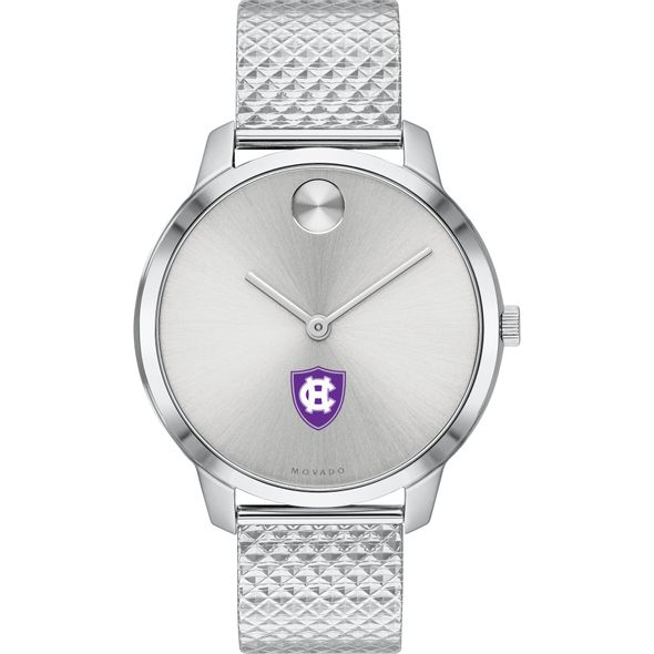 Holy Cross Women's Movado Stainless Bold 35 - Image 2