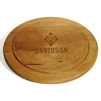 Davidson College Round Bread Server