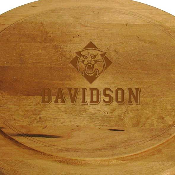 Davidson College Round Bread Server - Image 2