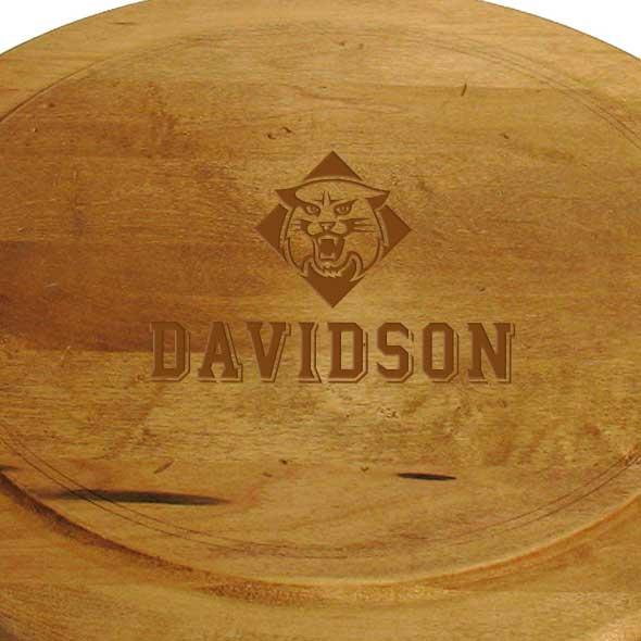 Davidson College Round Bread Server - Image 2