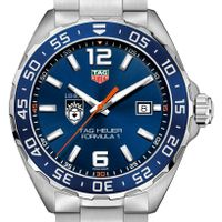 Lehigh University Men's TAG Heuer Formula 1 with Blue Dial & Bezel