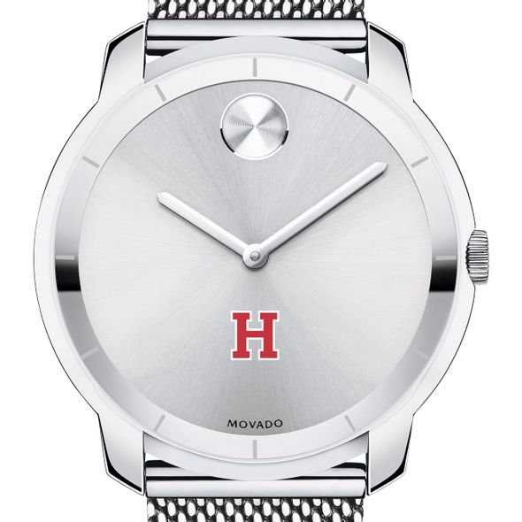 Harvard University Men's Movado Stainless Bold 44 - Image 1