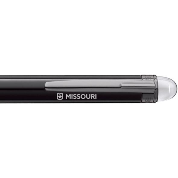 University of Missouri Montblanc StarWalker Ballpoint Pen in Ruthenium - Image 2