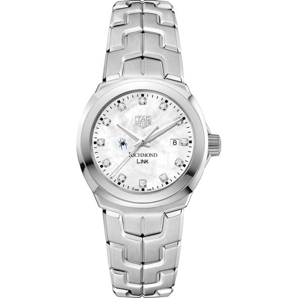 University of Richmond TAG Heuer Diamond Dial LINK for Women - Image 2