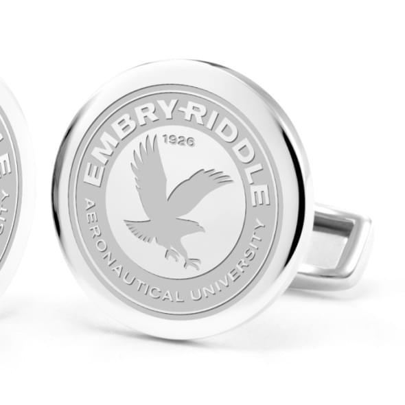 Embry-Riddle Cufflinks in Sterling Silver - Image 2