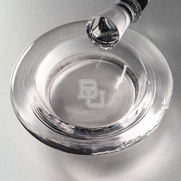 Baylor Glass Coaster by Simon Pearce - Image 2