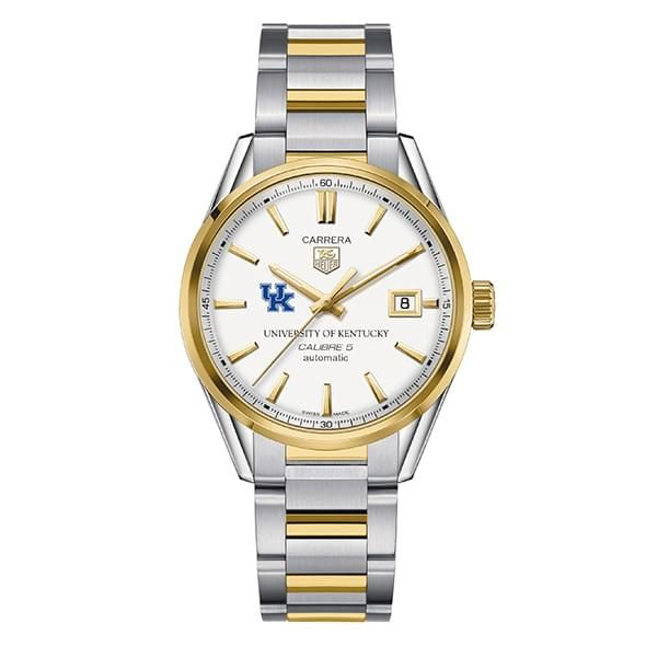 Kentucky Men's TAG Heuer Two-Tone Carrera with Bracelet - Image 2