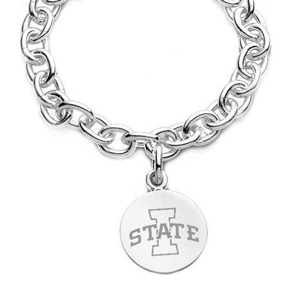 Iowa State University Sterling Silver Charm Bracelet - Image 2