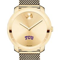 Texas Christian University Women's Movado Gold Bold 36