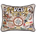 VCU Embroidered Pillow - Image 1