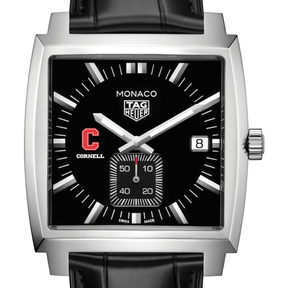 Cornell University TAG Heuer Monaco with Quartz Movement for Men - Image 1