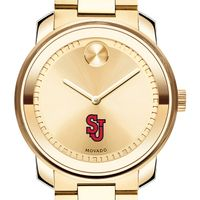 St. John's University Men's Movado Gold Bold