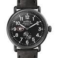 Georgia Shinola Watch, The Runwell 41mm Black Dial - Image 1