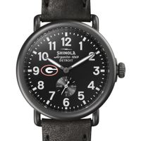 Georgia Shinola Watch, The Runwell 41mm Black Dial