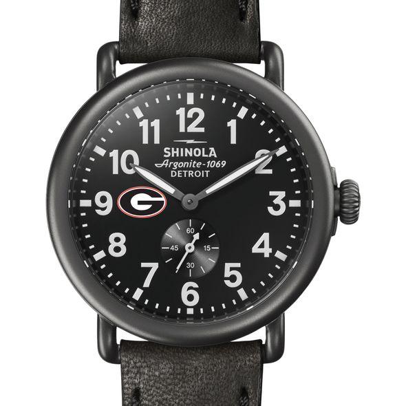 Georgia Shinola Watch, The Runwell 41mm Black Dial
