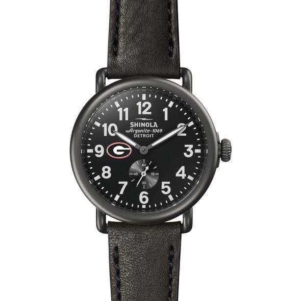 Georgia Shinola Watch, The Runwell 41mm Black Dial - Image 2