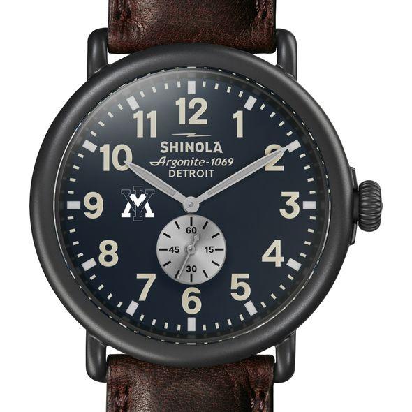 VMI Shinola Watch, The Runwell 47mm Midnight Blue Dial
