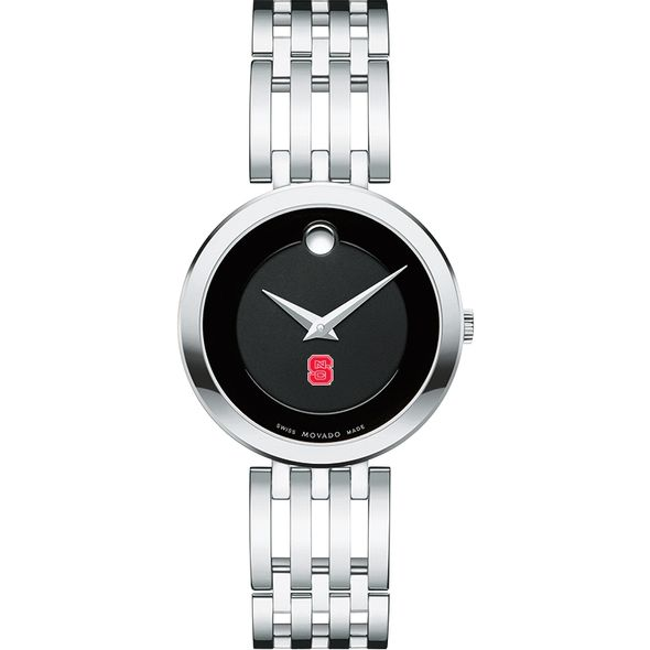 North Carolina State Women's Movado Esparanza Stainless Steel Museum with Bracelet - Image 2
