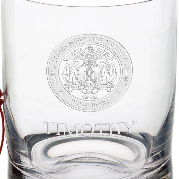 US Merchant Marine Academy Tumbler Glasses - Set of 2 - Image 3