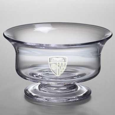 Johns Hopkins Medium Glass Revere Bowl by Simon Pearce