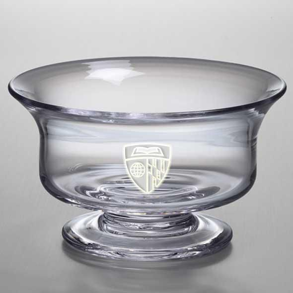 Johns Hopkins Medium Glass Revere Bowl by Simon Pearce - Image 2