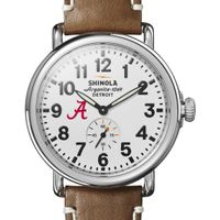 Alabama Shinola Watch, The Runwell 41mm White Dial