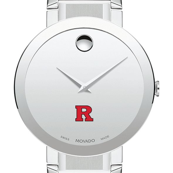 Rutgers University Men's Movado Sapphire Museum with Bracelet