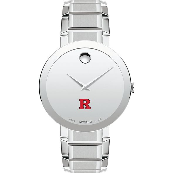 Rutgers University Men's Movado Sapphire Museum with Bracelet - Image 2