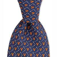 UVA Vineyard Vines Tie in Blue