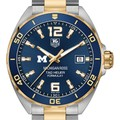 Michigan Ross Men's TAG Heuer Two-Tone Formula 1 with Blue Dial & Bezel - Image 1
