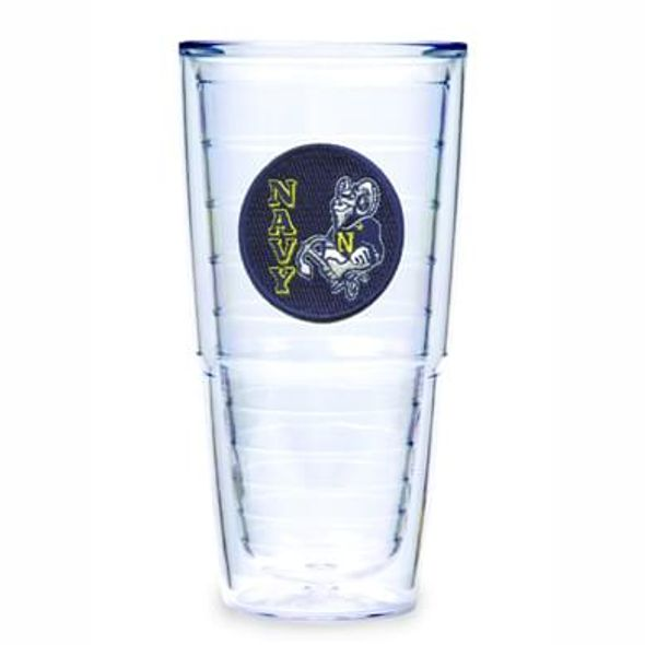 US Naval Academy 24 oz Tervis set of 4 - Image 1