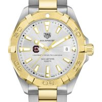 South Carolina Men's TAG Heuer Two-Tone Aquaracer