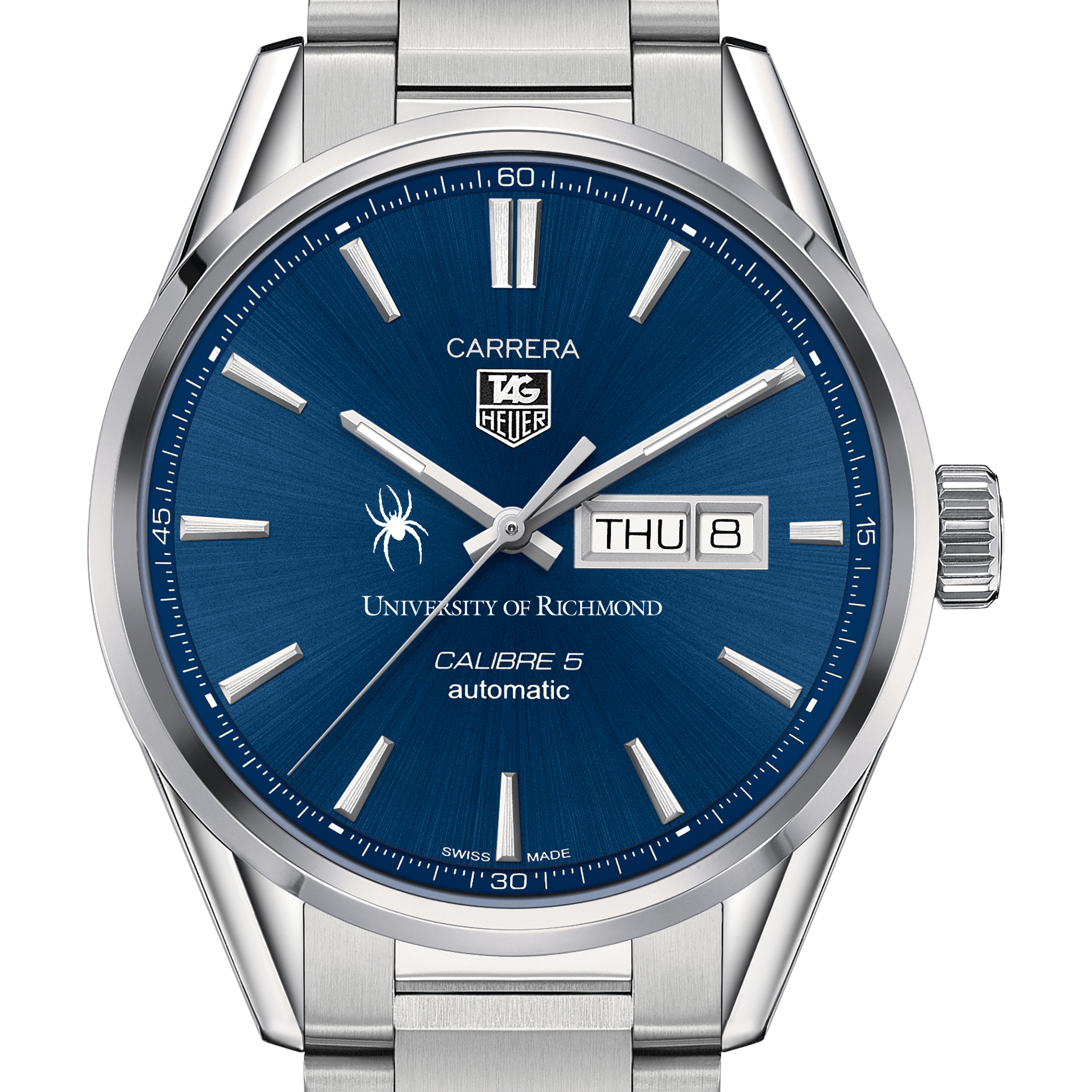 University of Richmond Men's TAG Heuer Carrera with Day-Date
