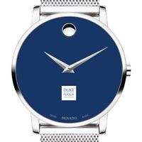The Fuqua School of Business Men's Movado Museum with Blue Dial & Mesh Bracelet