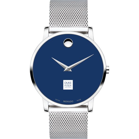 The Fuqua School of Business Men's Movado Museum with Blue Dial & Mesh Bracelet - Image 2