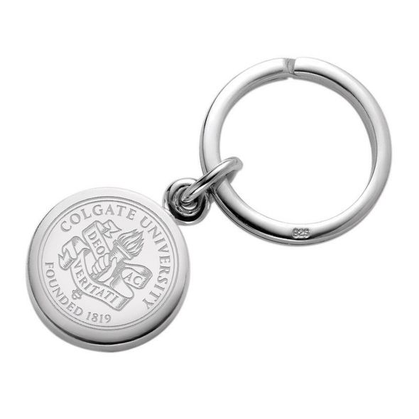 Colgate Sterling Silver Insignia Key Ring