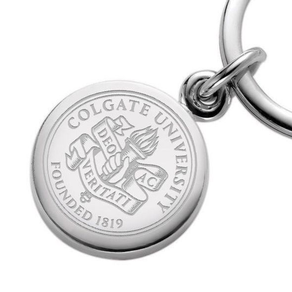 Colgate Sterling Silver Insignia Key Ring - Image 2