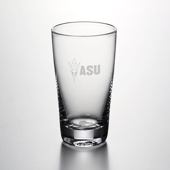 Arizona State Ascutney Pint Glass by Simon Pearce