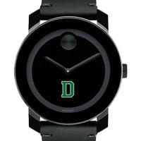 Dartmouth College Men's Movado BOLD with Leather Strap