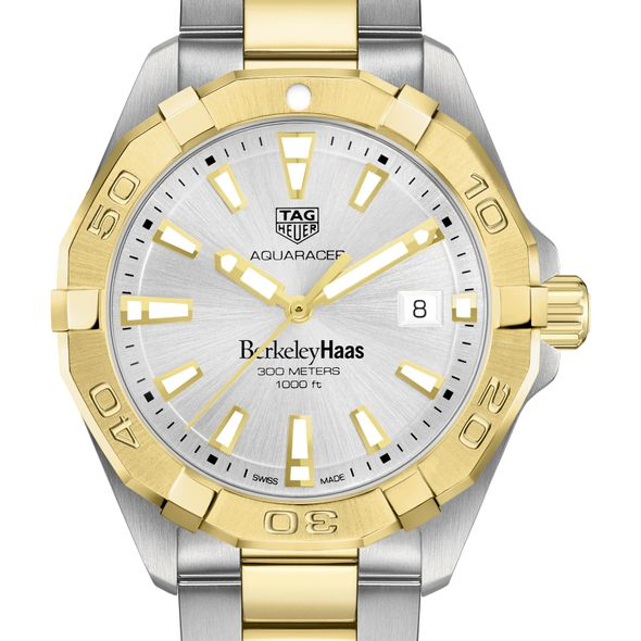 Berkeley Haas Men's TAG Heuer Two-Tone Aquaracer - Image 1