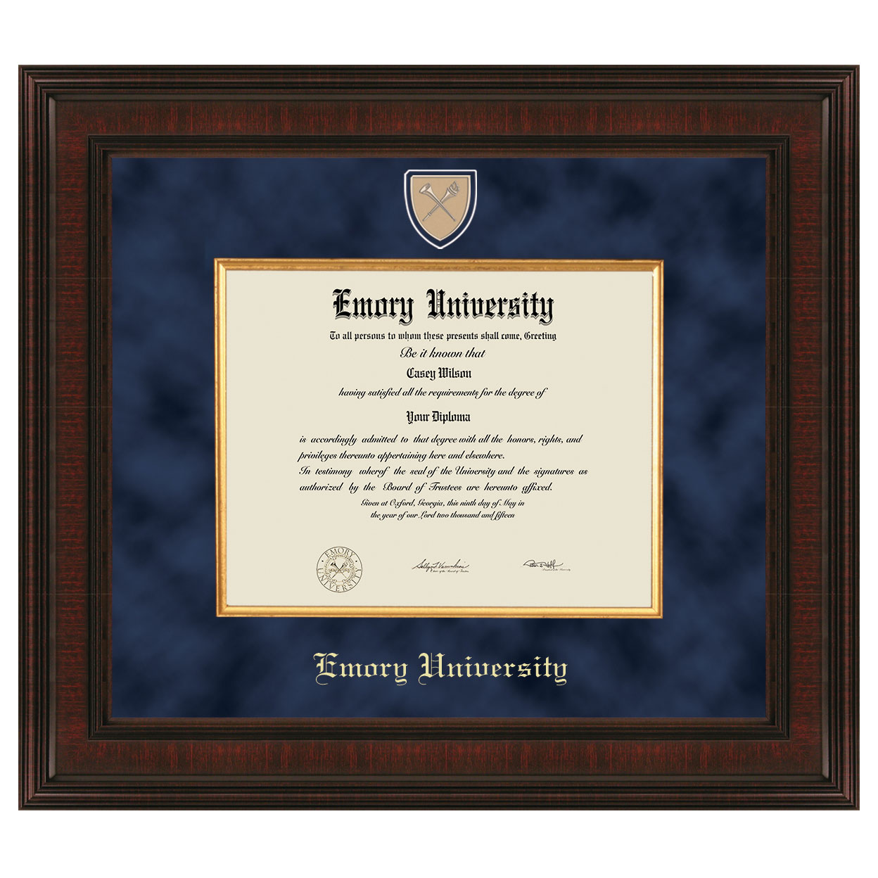 Emory Diploma Frame - Excelsior | Graduation Gift