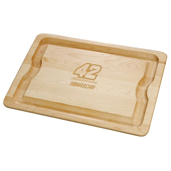 Kyle Larson Maple Cutting Board - Image 1