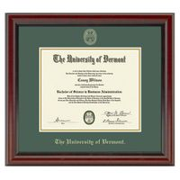 University of Vermont Diploma Frame, the Fidelitas