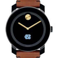 University of North Carolina Men's Movado BOLD with Brown Leather Strap