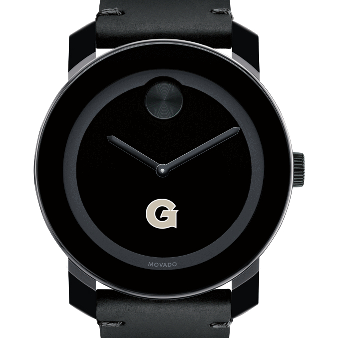 Georgetown Men's Movado BOLD with Leather Strap