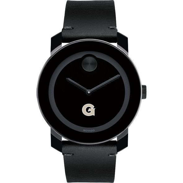Georgetown University Men's Movado BOLD with Leather Strap - Image 2