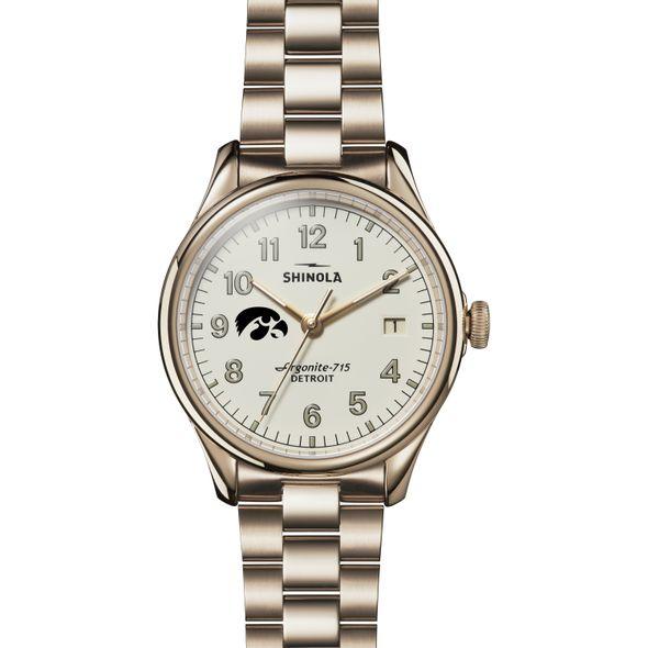 Iowa Shinola Watch, The Vinton 38mm Ivory Dial - Image 2