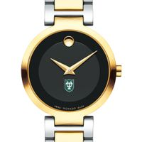 Tulane University Women's Movado Two-Tone Modern Classic Museum with Bracelet