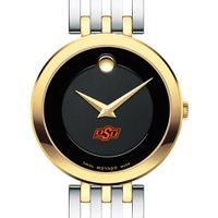 Oklahoma State University Women's Movado Esparanza Two-Tone Museum with Bracelet