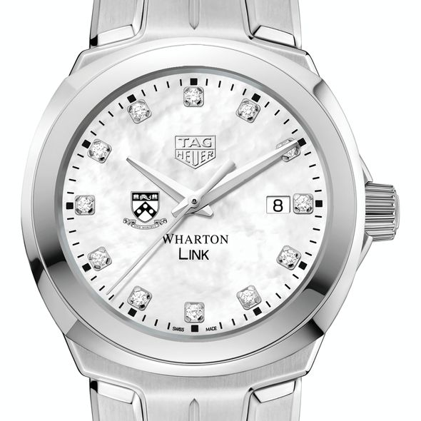 Wharton TAG Heuer Diamond Dial LINK for Women